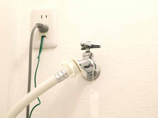 洗濯機用水栓蛇口