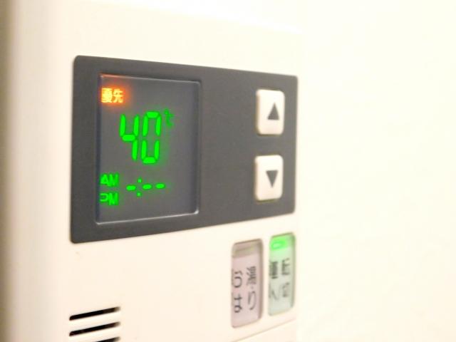 ガス給湯暖房器のエラーコード「543」が出た時に自分で対処する方法